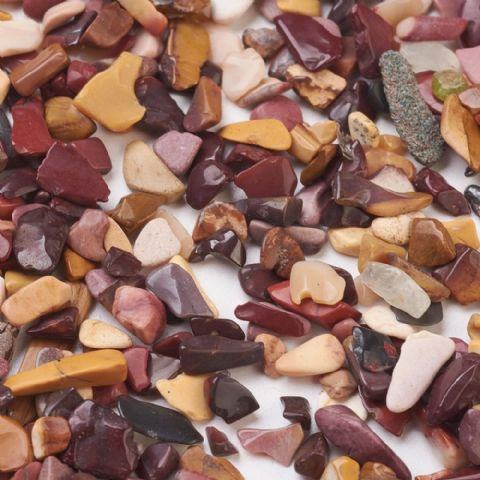 Chips - Natural Bloodstone 4~12mm - 50g